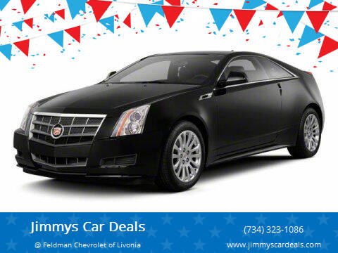 2012 Cadillac CTS for sale at Jimmys Car Deals in Livonia MI