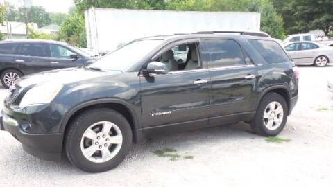2007 GMC Acadia for sale at Tates Creek Motors KY in Nicholasville KY