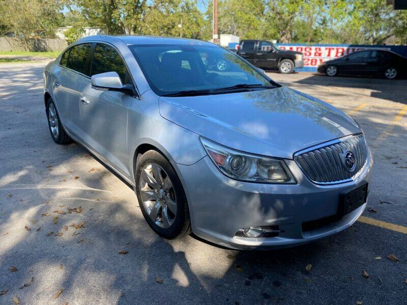 2010 Buick LaCrosse for sale at Sam's Auto Sales in Houston TX