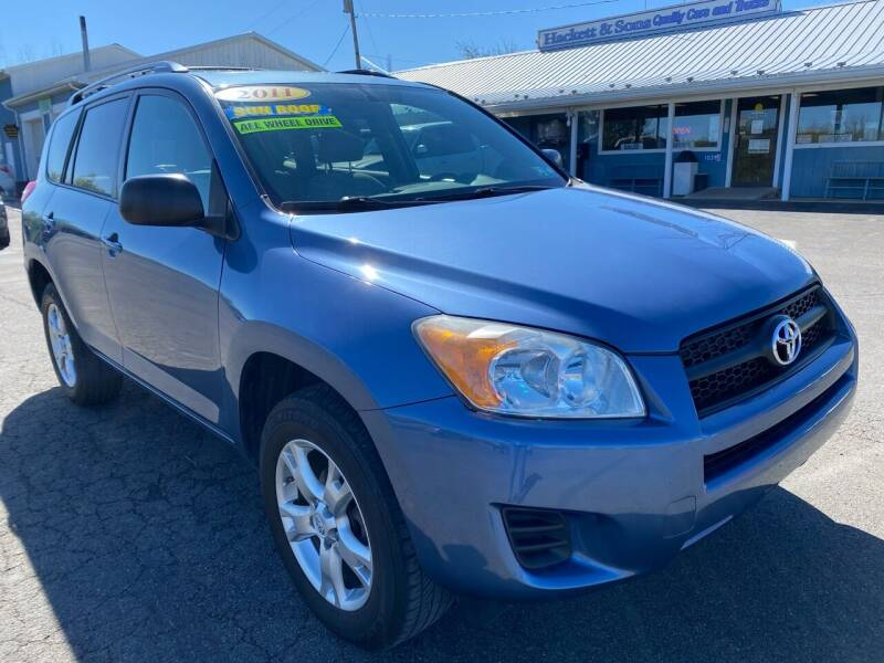 2011 Toyota RAV4 for sale at HACKETT & SONS LLC in Nelson PA