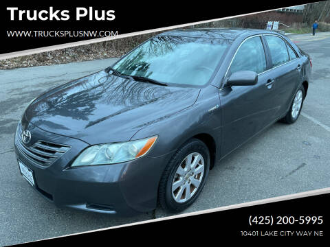 2008 Toyota Camry Hybrid for sale at Trucks Plus in Seattle WA