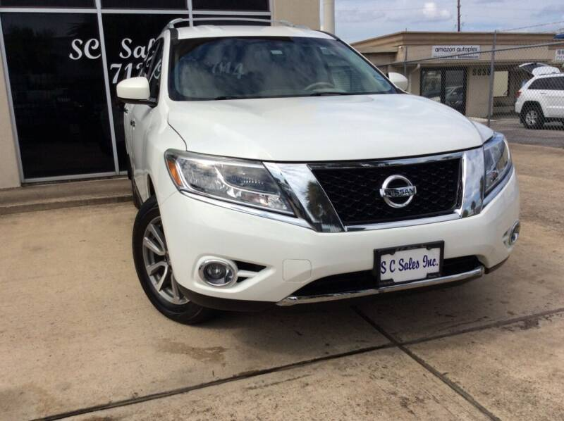 2013 Nissan Pathfinder for sale at SC SALES INC in Houston TX