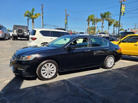 2014 Honda Accord for sale at E and M Auto Sales in Bloomington CA