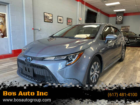 2021 Toyota Corolla Hybrid for sale at Bos Auto Inc in Quincy MA