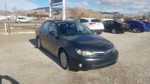2010 Subaru Impreza for sale at Auto Depot in Carson City NV