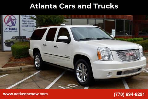 2014 GMC Yukon XL for sale at Atlanta Cars and Trucks in Kennesaw GA