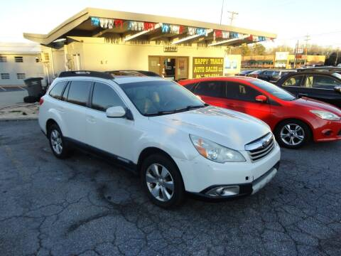 2011 Subaru Outback for sale at HAPPY TRAILS AUTO SALES LLC in Taylors SC