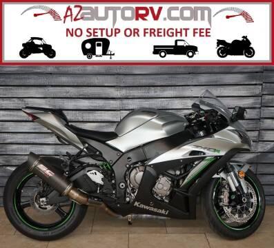 2018 Kawasaki Ninja ZX-10R for sale at Motomaxcycles.com in Mesa AZ