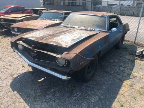 1969 Chevrolet Camaro for sale at Mr Wonderful Motorsports - Muscle Cars in Aurora IL