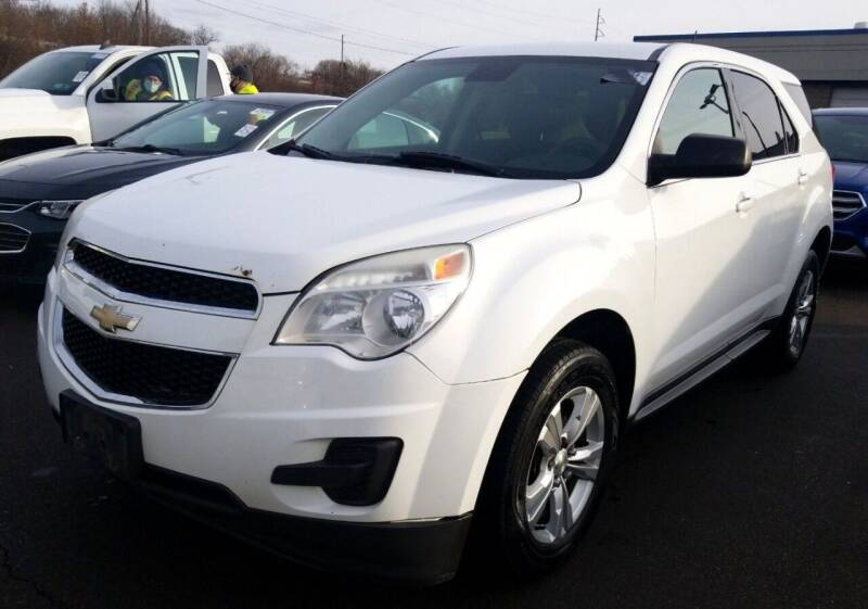 2014 Chevrolet Equinox for sale at Angelo's Auto Sales in Lowellville OH