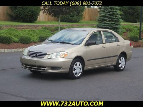 2004 Toyota Corolla for sale at Absolute Auto Solutions in Hamilton NJ