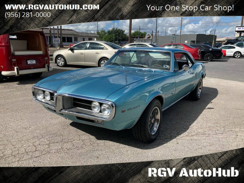 1967 Pontiac Firebird for sale at RGV AutoHub in Harlingen TX