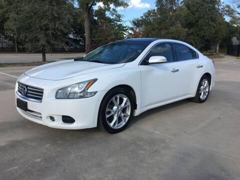 2012 Nissan Maxima for sale at Safe Trip Auto Sales in Dallas TX