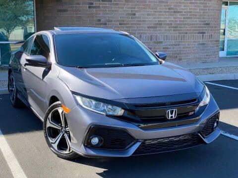 2017 Honda Civic for sale at AKOI Motors in Tempe AZ
