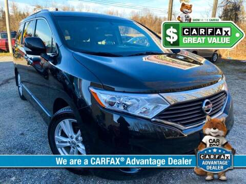 2012 Nissan Quest for sale at High Rated Auto Company in Abingdon MD