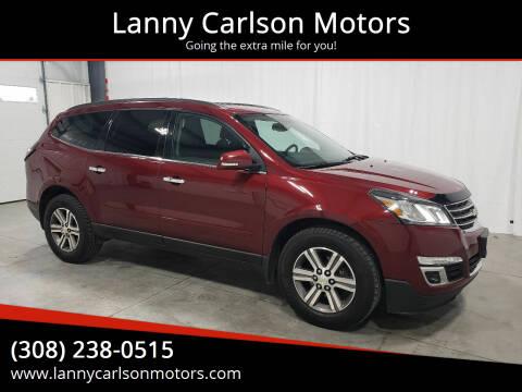 2016 Chevrolet Traverse for sale at Lanny Carlson Motors in Kearney NE