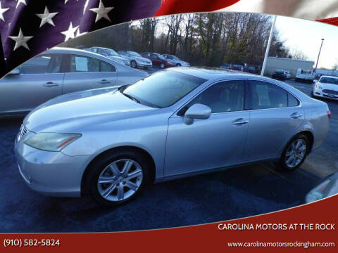 2007 Lexus ES 350 for sale at Carolina Motors at the Rock in Rockingham NC