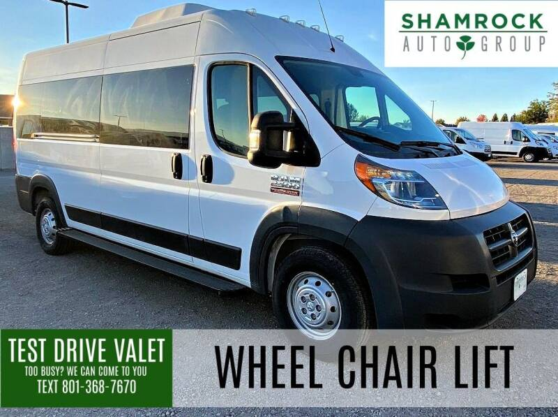 2016 RAM ProMaster Window for sale at Shamrock Group LLC #1 in Pleasant Grove UT