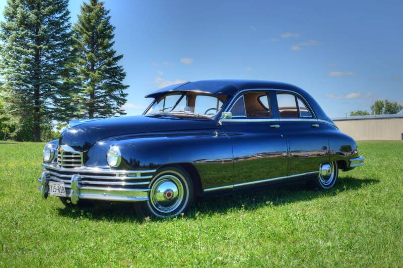 1949 Packard 4 Door Sedan for sale at Hooked On Classics in Watertown MN
