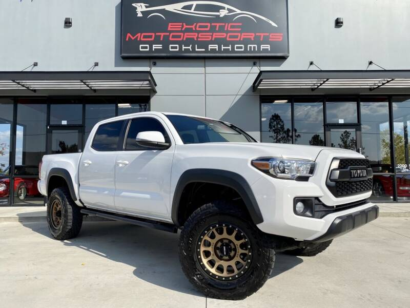 2017 Toyota Tacoma for sale at Exotic Motorsports of Oklahoma in Edmond OK
