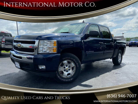 2011 Chevrolet Silverado 1500 for sale at International Motor Co. in St. Charles MO
