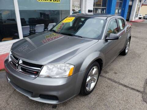 2013 Dodge Avenger for sale at AutoMotion Sales in Franklin OH