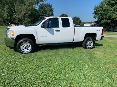 2013 Chevrolet Silverado 2500HD for sale at Clarks Auto Sales in Connersville IN