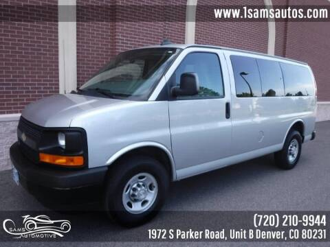 2017 Chevrolet Express Passenger for sale at SAM'S AUTOMOTIVE in Denver CO