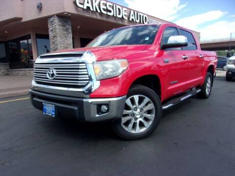 2014 Toyota Tundra for sale at Lakeside Auto Brokers in Colorado Springs CO