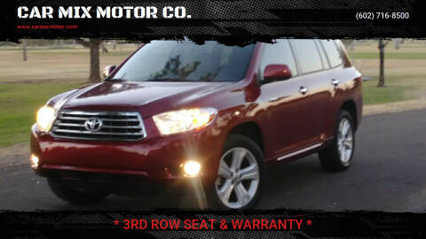 2008 Toyota Highlander for sale at CAR MIX MOTOR CO. in Phoenix AZ