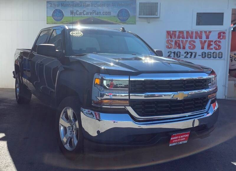 2016 Chevrolet Silverado 1500 for sale at Manny G Motors in San Antonio TX