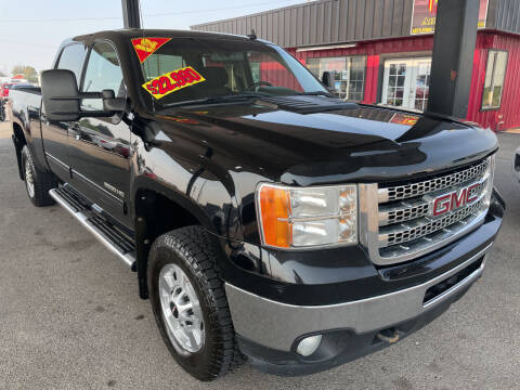 2012 GMC Sierra 2500HD for sale at Top Line Auto Sales in Idaho Falls ID