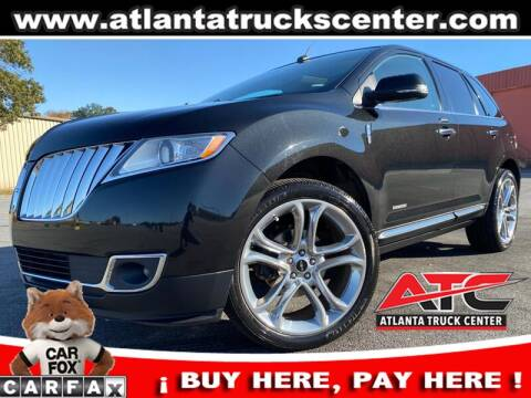 2015 Lincoln MKX for sale at ATLANTA TRUCK CENTER LLC in Brookhaven GA