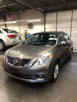 2012 Nissan Versa for sale at Jimmys Auto Sales in North Providence RI