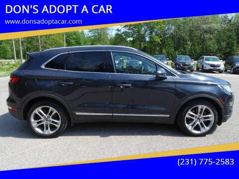 2015 Lincoln MKC for sale at DON'S ADOPT A CAR in Cadillac MI