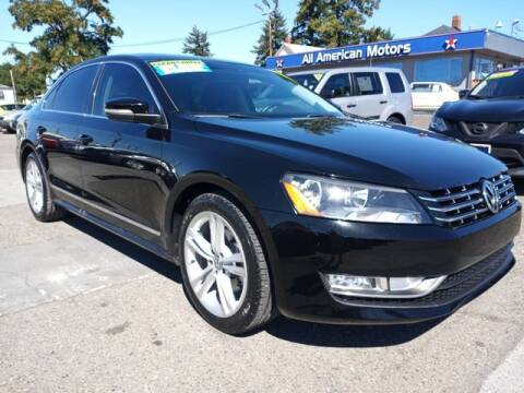 2014 Volkswagen Passat for sale at All American Motors in Tacoma WA