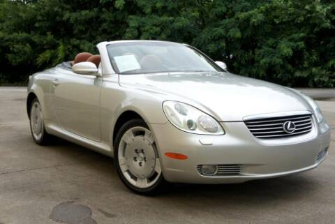 2004 Lexus SC 430 for sale at CU Carfinders in Norcross GA