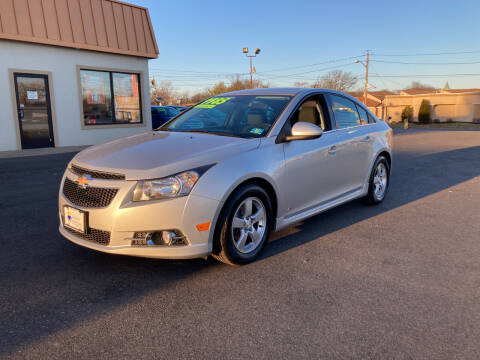 2014 Chevrolet Cruze for sale at Majestic Automotive Group in Cinnaminson NJ