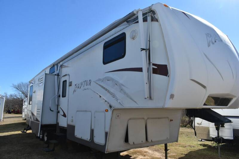 2008 Keystone Raptor 3612 for sale at Buy Here Pay Here RV in Burleson TX
