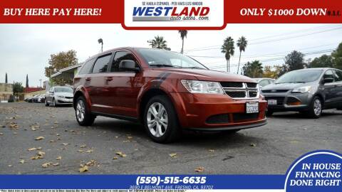 2014 Dodge Journey for sale at Westland Auto Sales on 7th in Fresno CA