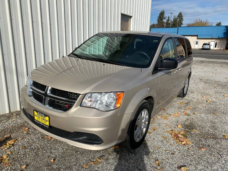 2016 Dodge Grand Caravan for sale at DAVENPORT MOTOR COMPANY in Davenport WA