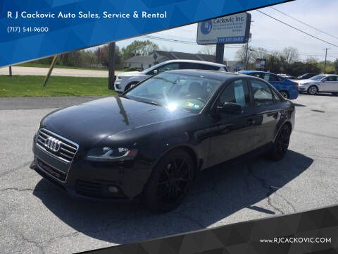 2010 Audi A4 for sale at R J Cackovic Auto Sales, Service & Rental in Harrisburg PA