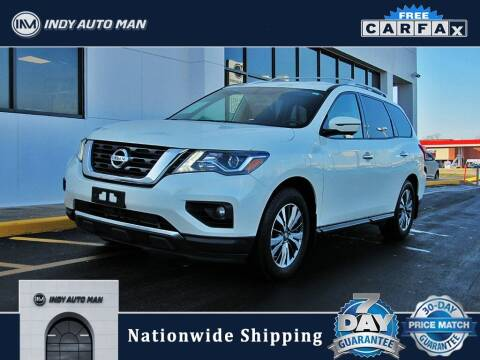 2017 Nissan Pathfinder for sale at INDY AUTO MAN in Indianapolis IN