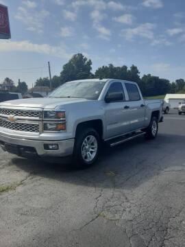 2014 Chevrolet Silverado 1500 for sale at Bates Auto & Truck Center in Zanesville OH