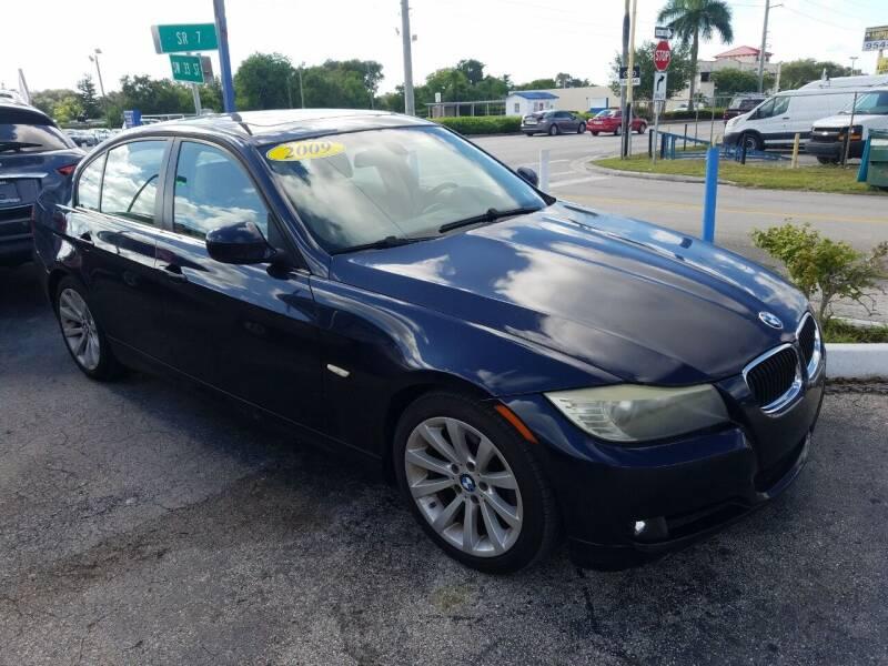 2009 BMW 3 Series for sale at P S AUTO ENTERPRISES INC in Miramar FL