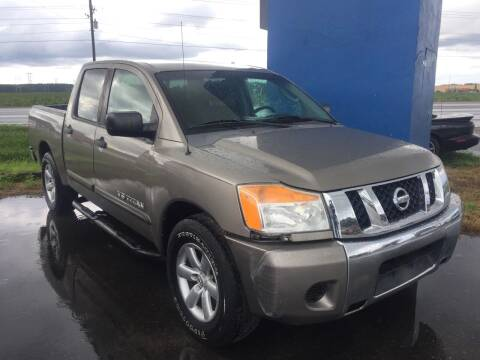 2009 Nissan Titan for sale at CARZ4YOU.com in Robertsdale AL