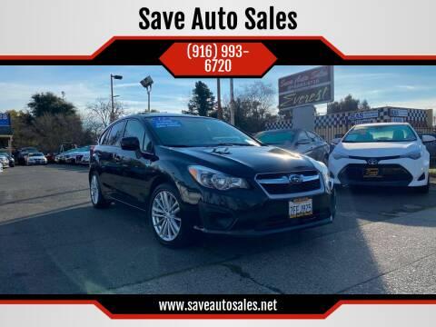 2013 Subaru Impreza for sale at Save Auto Sales in Sacramento CA