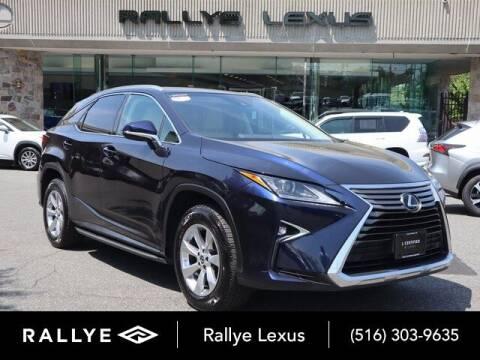 2018 Lexus RX 350 for sale at RALLYE LEXUS in Glen Cove NY