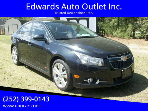 2014 Chevrolet Cruze for sale at Edwards Auto Outlet Inc. in Wilson NC