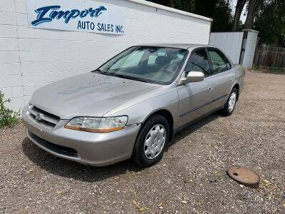 1999 Honda Accord for sale at Import Auto Sales Inc. in Fort Collins CO